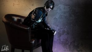 Leon S. Kennedy: Face Me by LoneWolf117