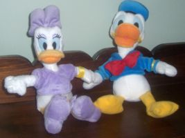 Donald and Daisy Duck Plush by ChipmunkRaccoon2