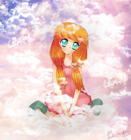 Fluffy clouds by Bamooh
