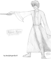 Auror Harry by ladysugarquill