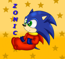 Baby Zonic by Blue-Zoner