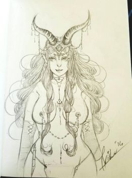 DD Concept Drawing by KoiFishTrisha
