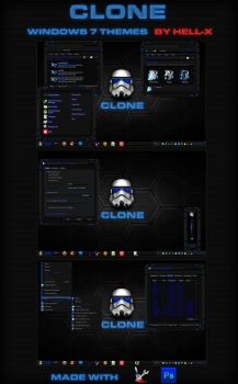 CLONE -WINDOWS7 THEMES BY HELL-X by HELL-X-HELL
