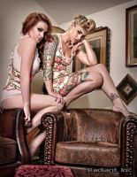 Britnee Leigh and Megan Renee  Photo by Radiant In by ModelMeganRenee