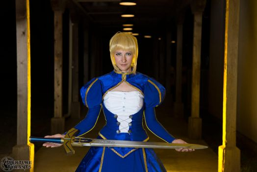 Saber- Print available 2 by Cosmic-Empress
