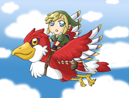 Skyward Sword Chibi by ocelot-girl