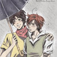 Rain_Toni and Lovi by MystOfTheStars