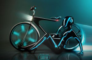 Tron-bike by SarethPL