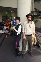 Indiana Jones and Han Solo by The-Prez
