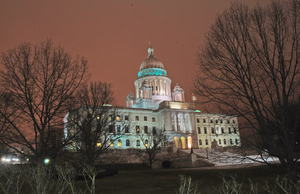 Rhode Island State House by BellaCielo