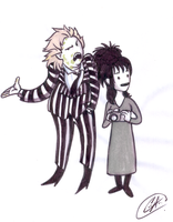 Beetlejuice by DemonCartoonist