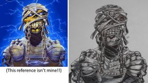 Eddie the Head: Powerslave FINISHED by WarlordRyuzaki