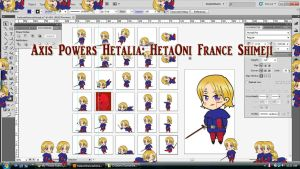 Hetalia: HetaOni France Shimeji Download v2 by TionneDawnstar