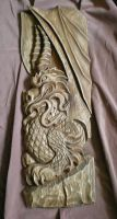 Dragon wood carving by MrStameska