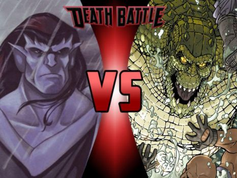 Goliath vs Killer Croc by ToxicMouse77