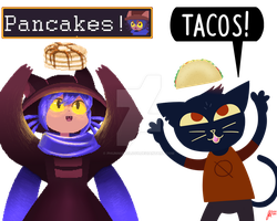 NITW and Oneshot | FOOD! by Phunnistology