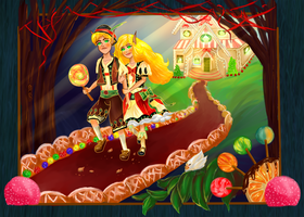 Hansel and Gretel by ArtByEdyn