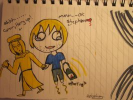 PewDiePie and Stephano by AnimeStar69