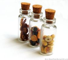 Bacon, Cookie, and Donut Charm Jars by Bon-AppetEats