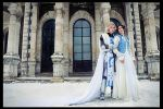 Castlevania - Leon and Sara by adelhaid