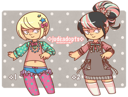 [Open/1LEFT] Adoptables {003} $5 (Paypal/Points) by judeadopts