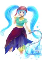 Nekuen The Water Sister by KeyPassions
