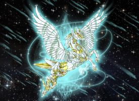 Pegasus - Steed of the Empyrean by Sekishiki