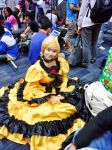 Kagamine Rin is Resting! by PatriciaDenise