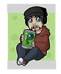 Jacksepticeye by WrennPenn