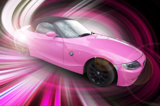 BMW in the PINK by gridart