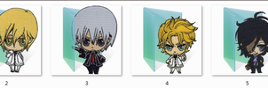 Vampire Knight Folder Icons by Ginokami6