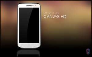 Micromax Canvas HD PSD by danishprakash
