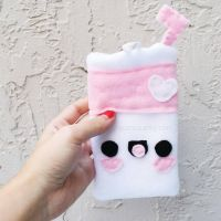 Cute Milk Pouch by CosmiCosmos