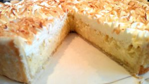 Coconut Flan Pie by asthetiq