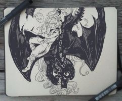 #75 How to Train Your Dragon by 365-DaysOfDoodles