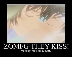 FINALLY THEY KISS by DetectiveConanFan