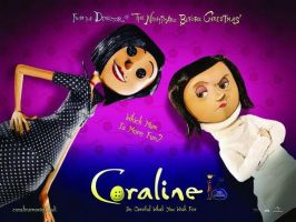 Coraline's 2 mothers by guitarher