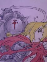Full metal alchemist by animenyancat