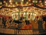 A Carousel at the Fair by WDWParksGal-Stock