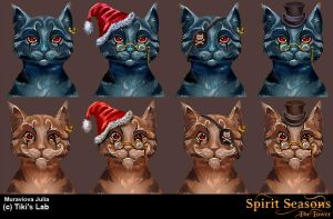 concept of cat Boris by JuliaMyr