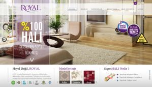Royal - Website Concept by grafiket