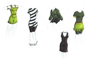 Clothes clothes clothes by Doofus-the-Cool