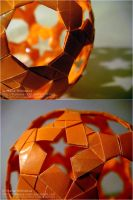 Origami Sphere Details by DARK0NA