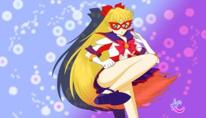 Sailor V Kick by MusicalGrl1016