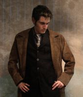 Brooding Tenth Doctor by Randirien