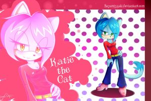 Commish: Katie The Cat by Sayamiyazaki