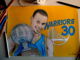 Stephen Curry by Zafe12