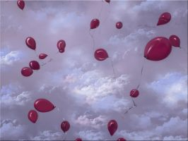 Balloons Wallpaper Manipulated by WDWParksGal