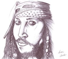 Jack Sparrow by Ghost21501