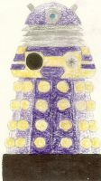 Doctor Who Purple Dalek by sonickingscrewdriver